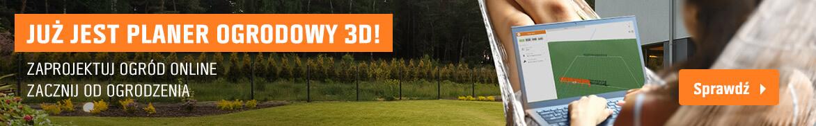 Planer 3d ogród