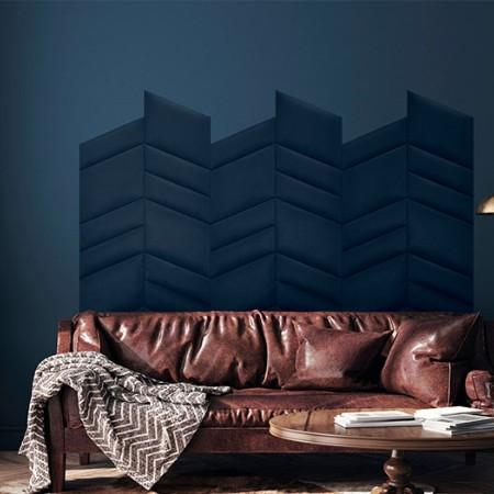 Modny sposób na aranżację ściany w salonie