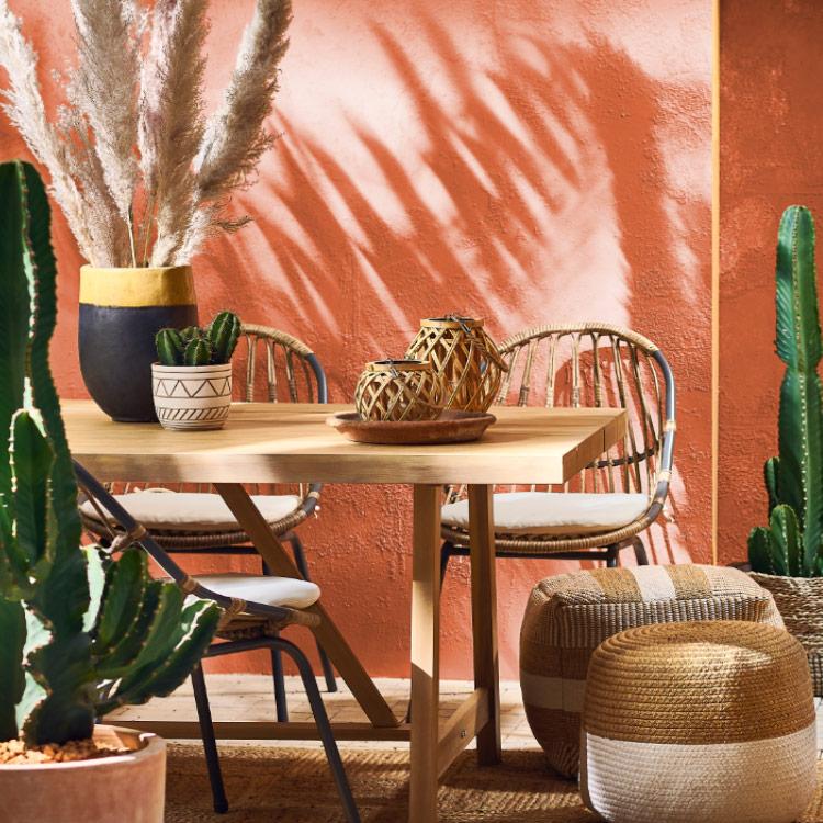Taras w stylu marokańskim - sprawdź aranżacje w stylu desert folwer