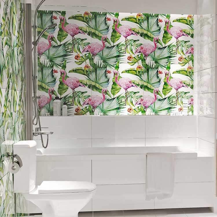 Dekoracyjne panele szklane w łazience