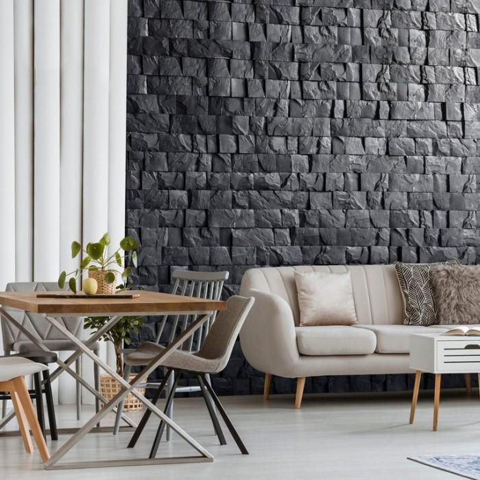 Inspiracje Dekoracje ściany - Kamień dekoracyjny