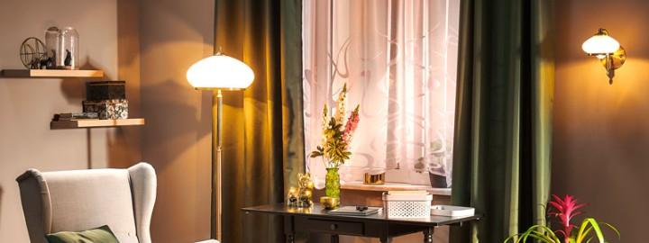 Oświetlenie w salonie – jak oświetlić poszczególne strefy?