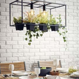 Oświetlenie do jadalni w stylu industrialnym