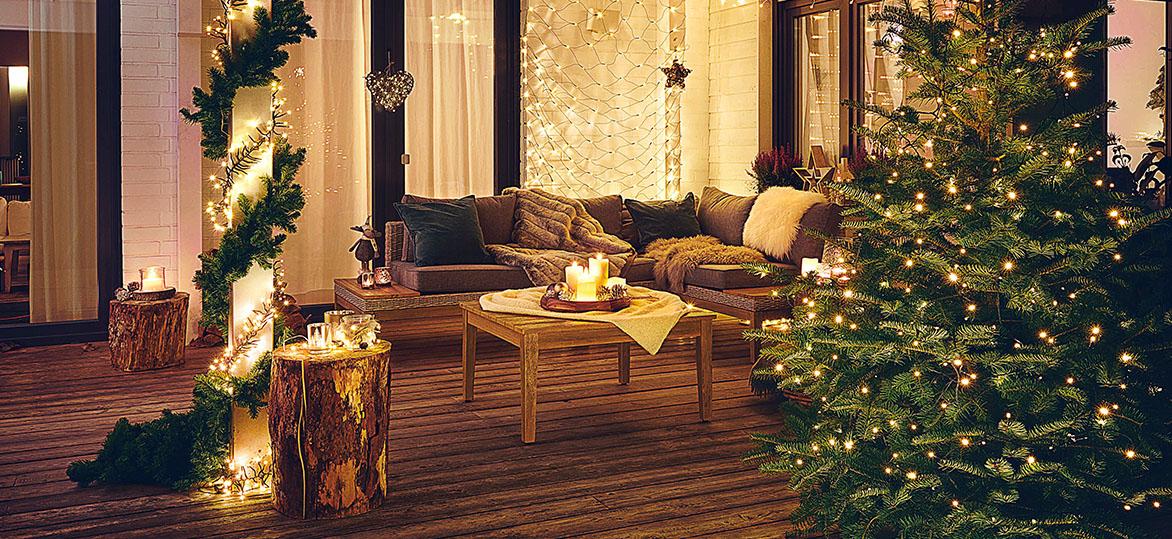 Inspiracje Świąteczne oświetlenie