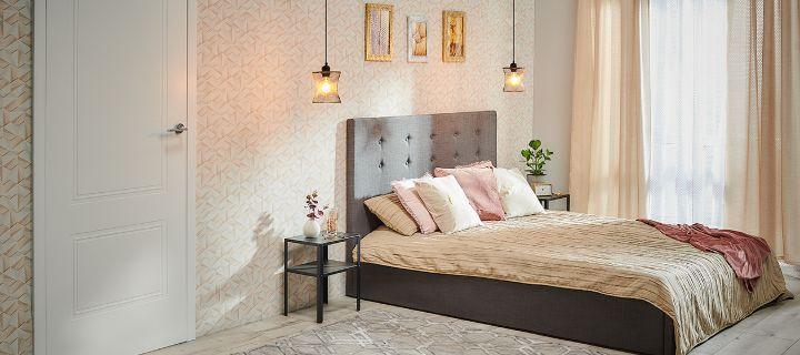 Nowoczesny design w sypialni