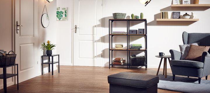 Nowoczesny minimalnizm w salonie