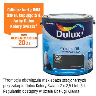 Dulux Emulsja Kolory Świata nocna wyprawa 2,5 l