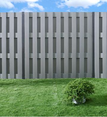 Panel ogrodzeniowy WPC