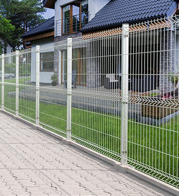 Panel ogrodzeniowy ocynkowany