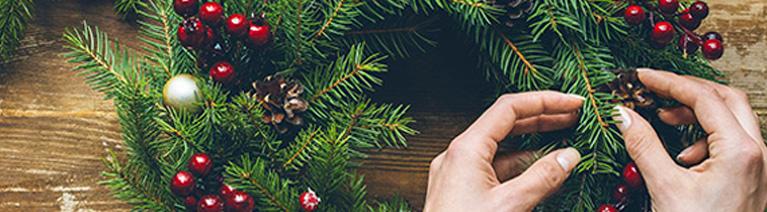 10 pomysłów na świąteczne dekoracje