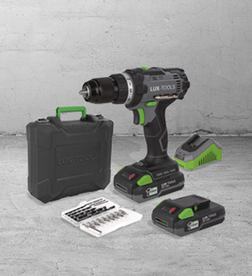 Wiertarko-wkrętarka 20 V Lux-Tools