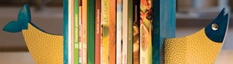 Podpórka do książek - Ryba