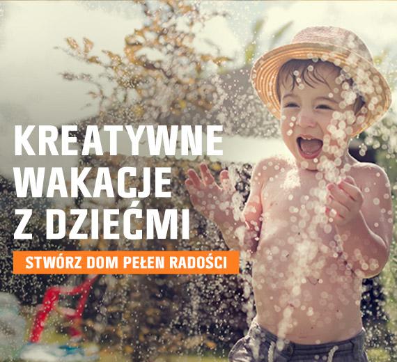 Kreatywne wakacje z dziećmi - stwórz dom pełen radości