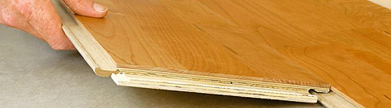 Kładzenie desek trójwarstwowych i laminatów
