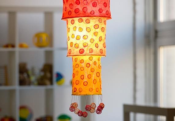 Dekoracyjne lampiony papierowe