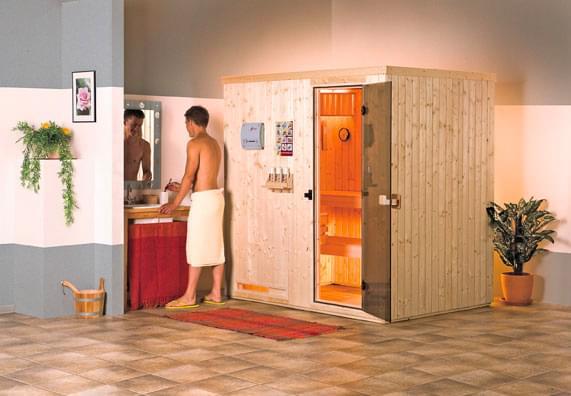 Porównanie: sauna, prysznic parowy i kabina na podczerwień