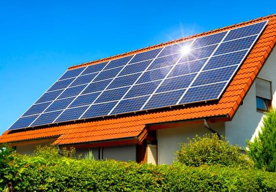 Instalacja solarna w domu       jednorodzinnym