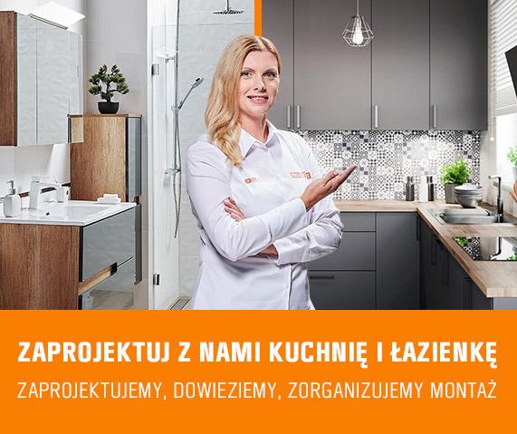 Zaprojektujemy kuchnię i łazienkę dla Ciebie