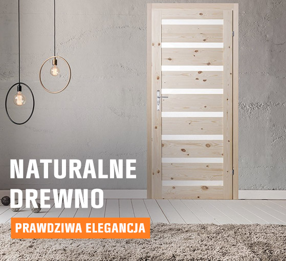 Naturalne drewno