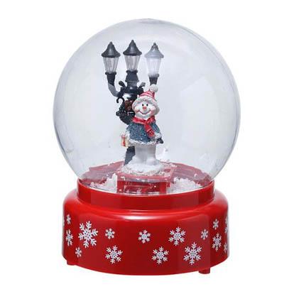Kula śnieżna świąteczna 13 x 13 x 19 cm