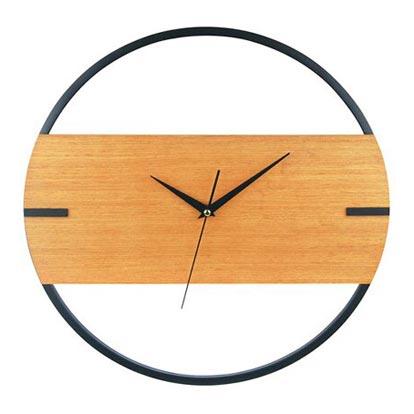 Zegar DESIGN drewno śr. 40 cm
