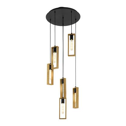 Eglo Lampa sufitowa Littleton 6x60W E27