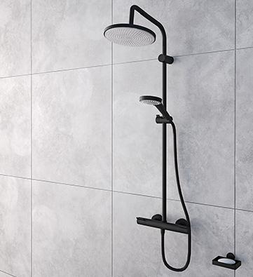 BALIV Kolumna prysznicowa Tina KBS-8150 czarna