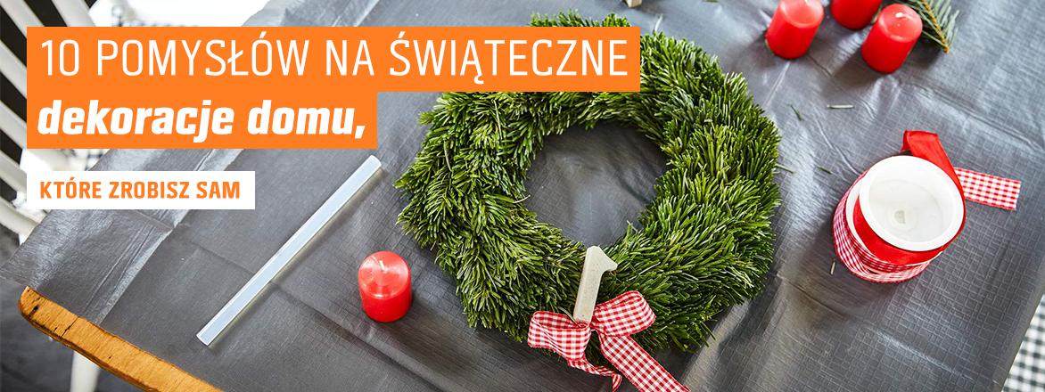 12 pomysłów na świąteczne DIY. Zrób sam dekoracje do domu.