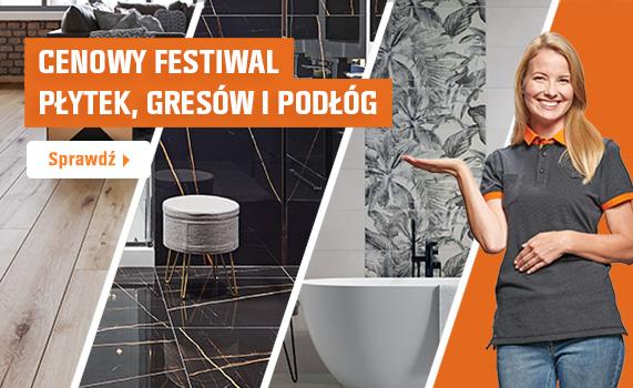 Cenowy Festiwal płytek, gresów i podłóg